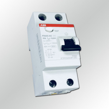 Устройство защитного отключения УЗО ABB FH202 AC-25/0,03