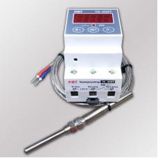 """Терморегулятор ТК-400Т с выносным датчиком (тип """"К"""") до +400°C, таймер, звук"""